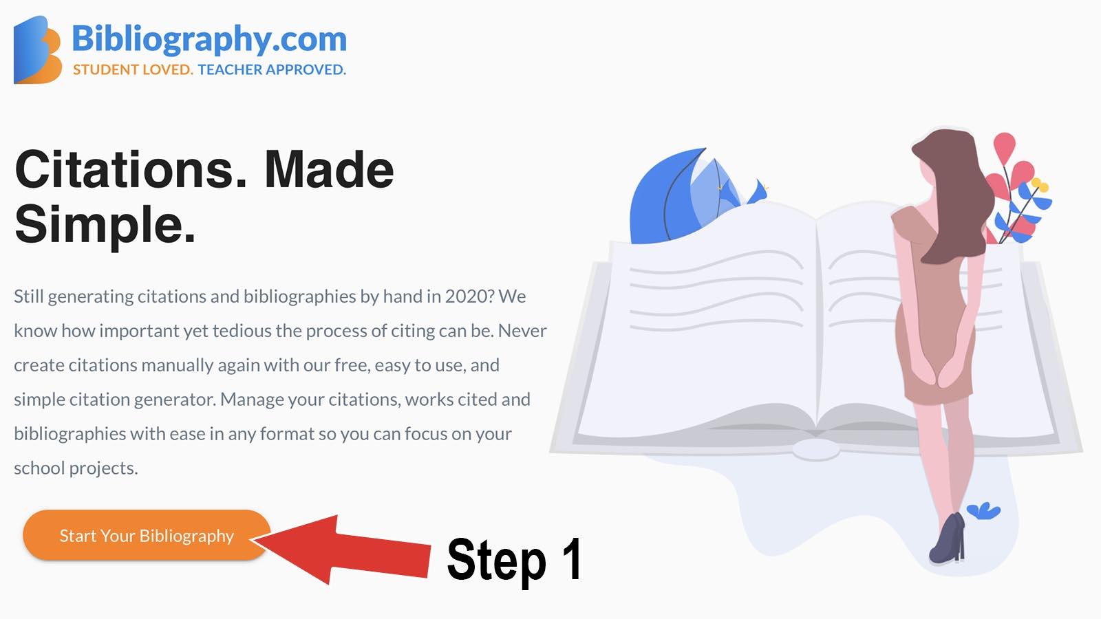 bibliography.com how to make citation