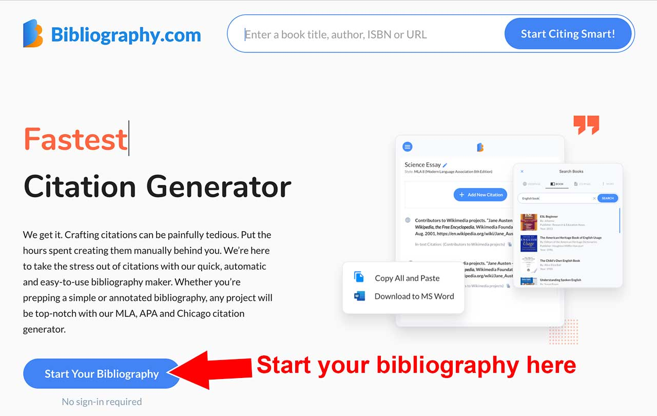annotated bibliography bibliography.com